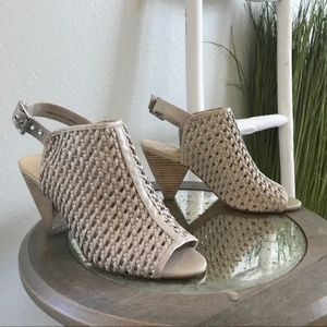 Vince Camuto | Emilia Perforated Open Back Booties